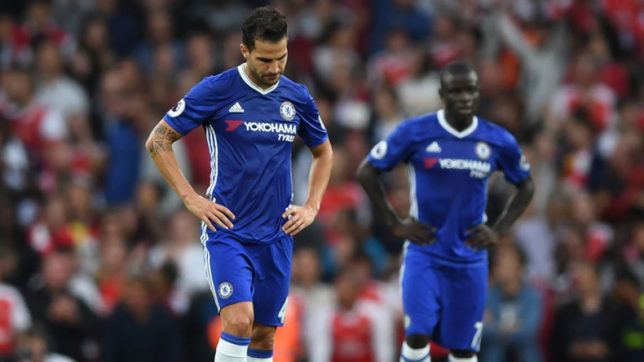 Chelsea humiliated 3-2 by Burnley at Stamford Bridge