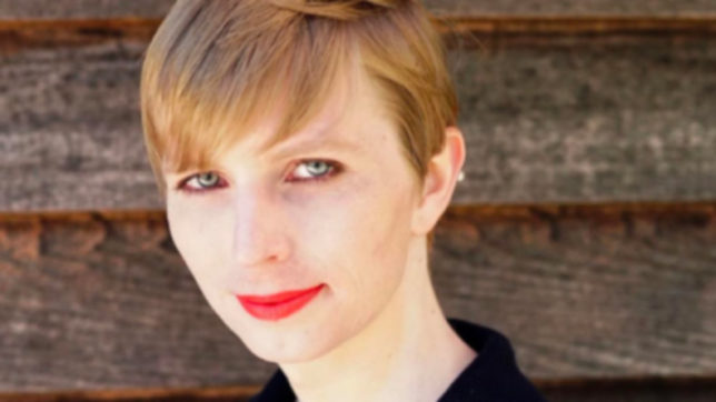 US transgender soldier Chelsea Manning appears in Vogue magazine's September issue