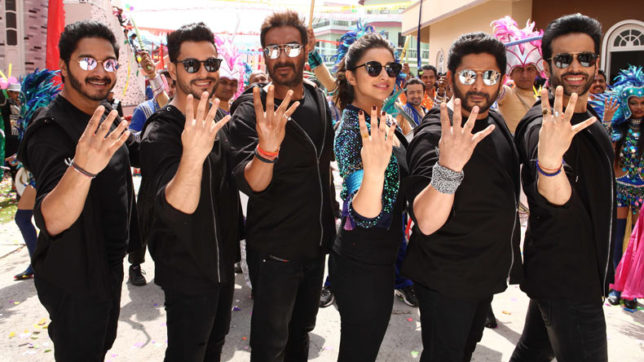 Rohit Shetty, team go 'Golmaal Again' in Hyderabad
