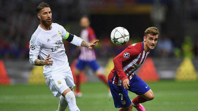 Griezmann, Banega banned for 2 matches, Ramos for 1
