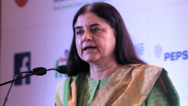 Triple talaq verdict giant step for women: Maneka Gandhi