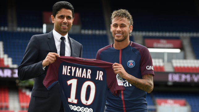 Fifpro demands investigation into 'illegal and unjustified' Neymar transfer