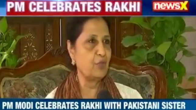 Meet PM Modi's proud sister from Pakistan who has been tying him rakhi since 20 yrs