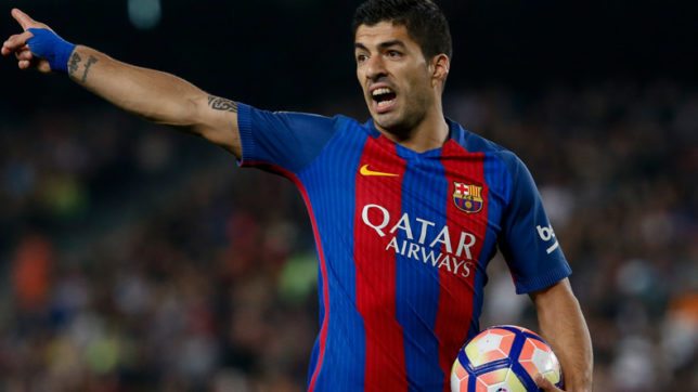 Injured Suarez to join Uruguay team for World Cup qualifiers