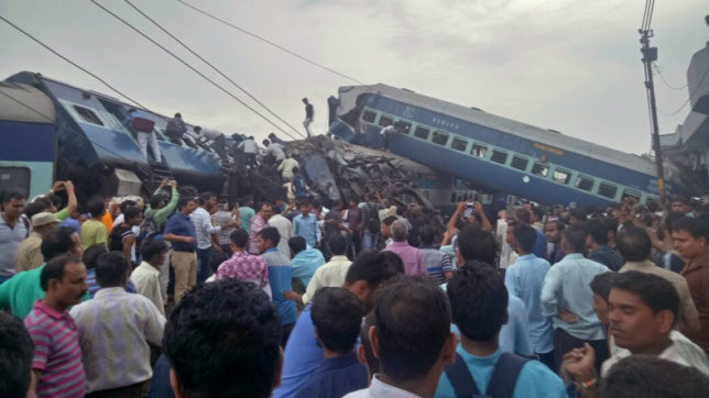 Utkal Express derailment: Tracks to be repaired by tonight, say officials