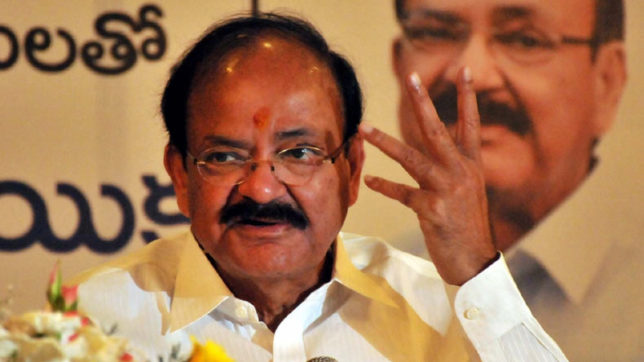 Opposition must have its say but government will have its way: Venkaiah Naidu