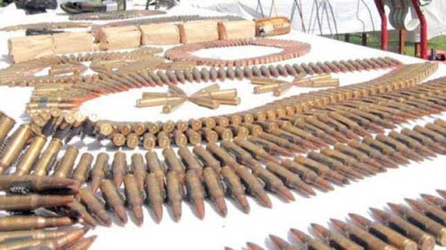 Suspects arrested, heavy ammunition recovered in Balochistan