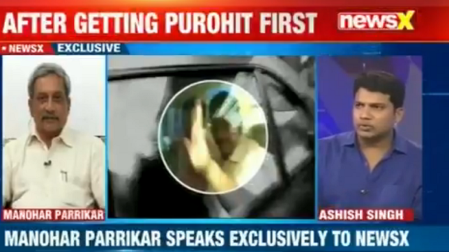 Exclusive — We should avoid politics as far as intelligence, military intelligence is concerned: Manohar Parrikar to NewsX