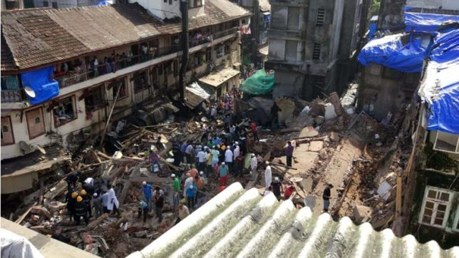 LIVE — Mumbai building collapse: Several feared trapped; rescue operation underway