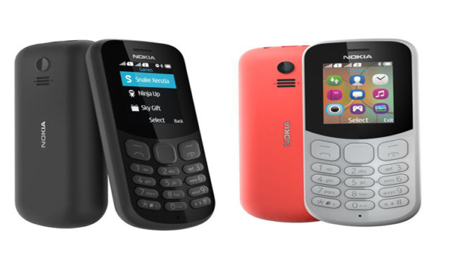 HMD Global launches Nokia 130 feature phone in India at Rs 1,599
