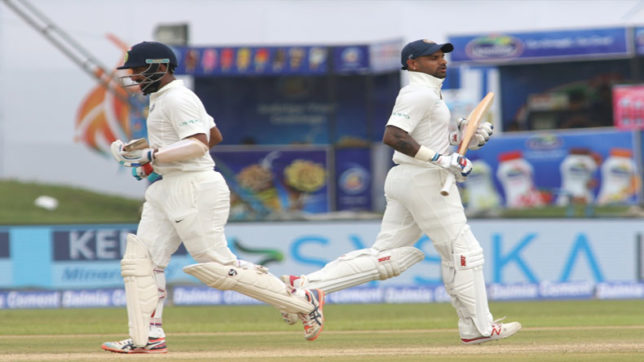 India vs SL, 3rd Test: KL Rahul & Shikhar Dhawan lead charge