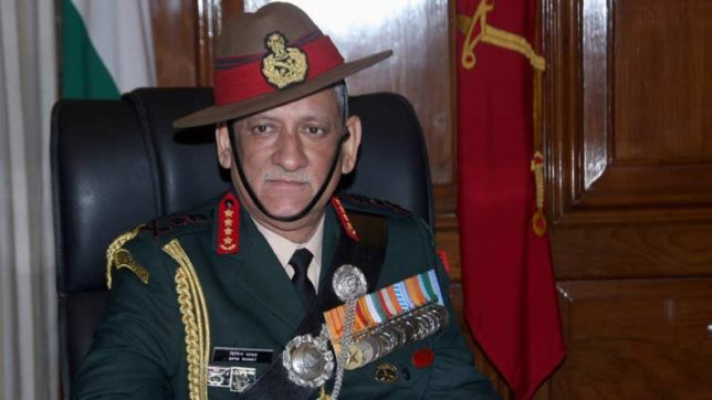Army chief General Bipin Rawat reviews security in Ladakh