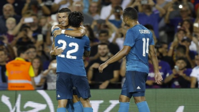 Real Madrid beat Barcelona in Spanish Super Cup first leg