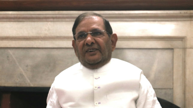 People living in fear, will fight to save composite culture: Sharad Yadav