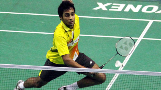 New Zealand Open Grand Prix Gold: Sourabh Varma crashes out in quarters