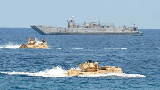 China protests against US warship approaching Meiji reef