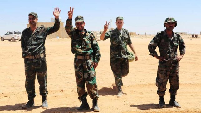 Syrian army declares liberation of last IS stronghold in Homs