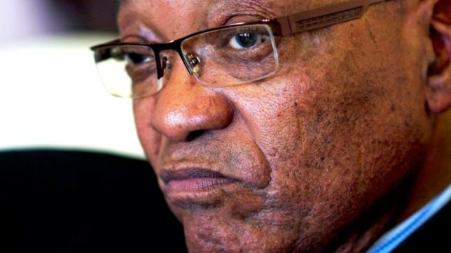 Protests in South Africa ahead of no-confidence vote against Zuma