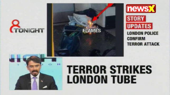 8 Tonight: Parsons Green — Explosion in London tube leaves more than 22 critically injured & more