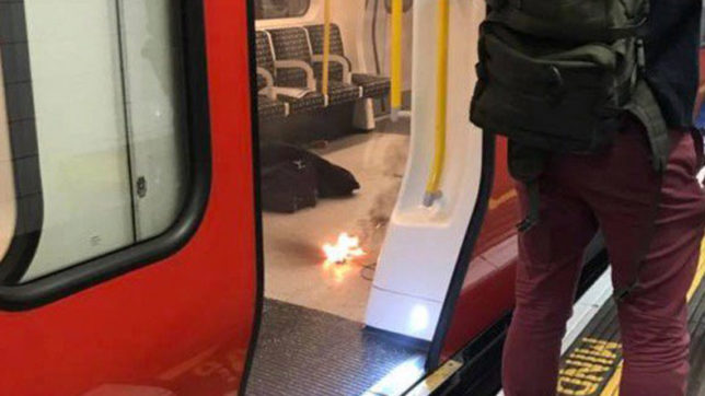 London: Explosion reported at Underground train near Tower Hill