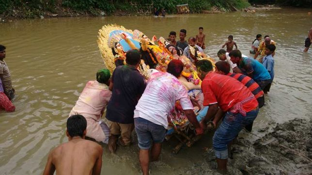 Take permission from state police for idol immersion on 'ekadashi' or Muharram: Bengal CM