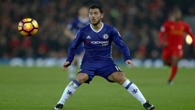Hazard wants to win Champions League with Chelsea