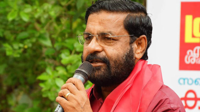 Kerala Minister says he was denied permission to visit China