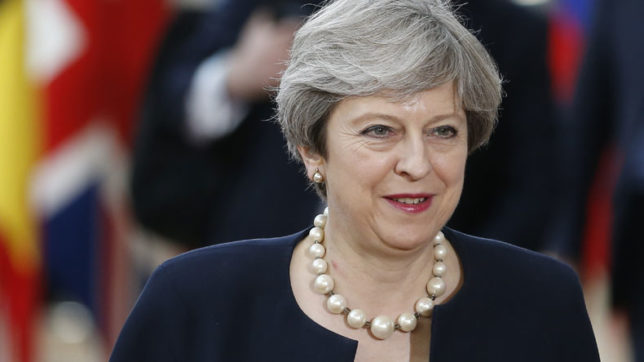 May proposes 2-year Brexit transition period