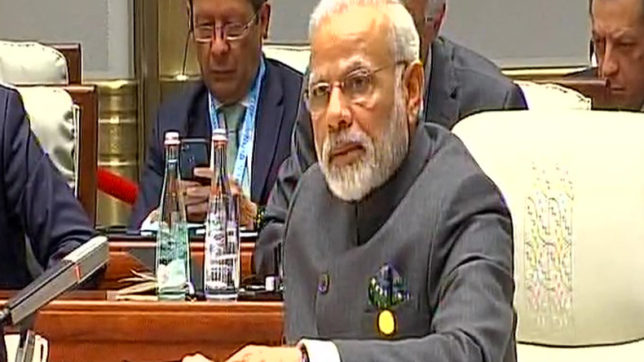 BRICS Summit: PM Modi urges nations to fight against the menace of terror & climate change