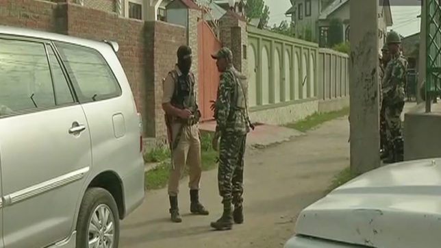 NIA raids 11 locations in Srinagar and 5 locations in Delhi in terror funding case