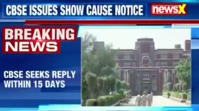 CBSE says Pradyuman's death could have been avoided, issues notice to Ryan administration