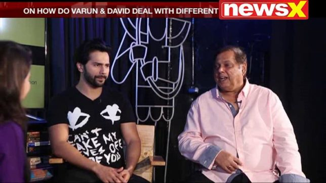 At the Movies with Anupama Chopra: Watch Varun and David share details about their actor-director relationship