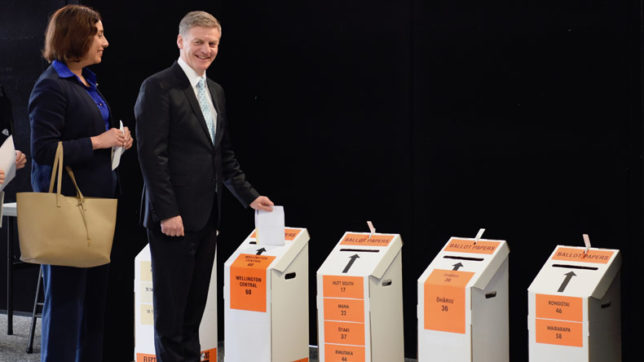 Voting underway for New Zealand general elections