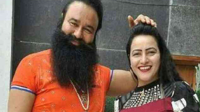 Ram Rahim's 'adopted' daughter Honeypreet Singh tops most wanted list