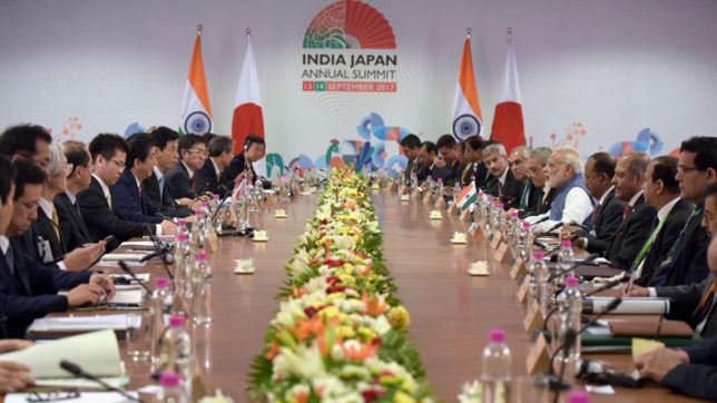 India, Japan sign 15 agreements