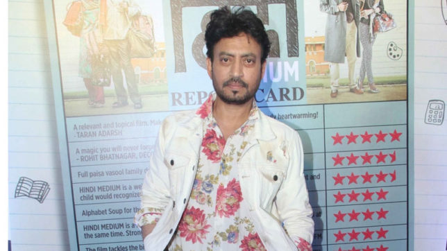 Would love to explore different shades of love on big screen: Irrfan Khan