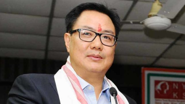 BJP will soon come to power in all northeastern states: Kiren Rijiju