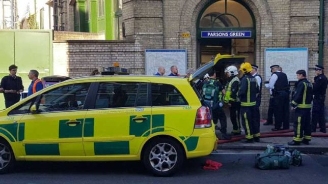 London: 29 injured in Parsons Green tube station explosion