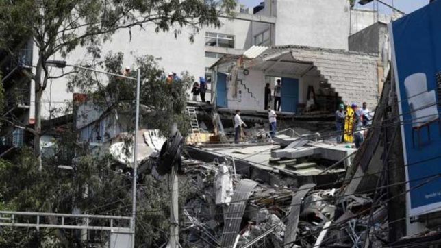 Toll in Mexico earthquake climbs to 273