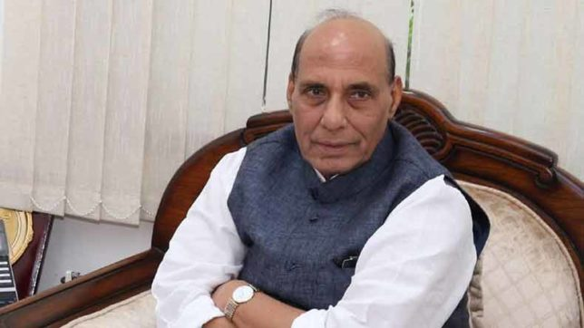 Ready to talk to everyone in Kashmir: Rajnath Singh