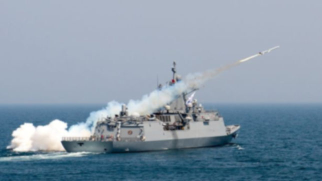 More live-fire drills conducted by South Korea in the Sea of Japan