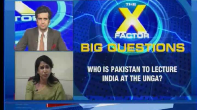 The X Factor: India leaves Pak fuming at UNGA; calls it a 'terroristan'