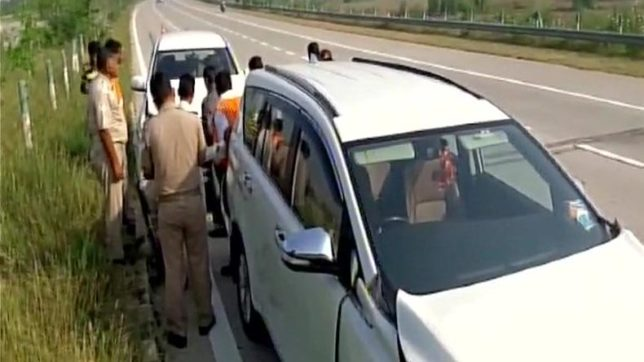 Cars in Mohan Bhagwat's convoy collide after tyre burst; RSS chief escapes unhurt