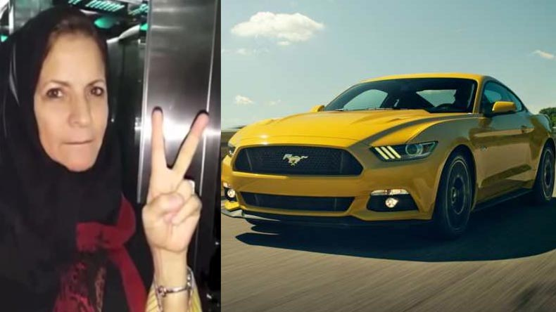 Sahar Nassif, Saudi Arabia, Saudi women, Saudi driving ban, woman driving ban, Ford mustang, Saudi king, Sahar Nassif, Mustang, American muscle car, Jeddah, , auto news, world news, breaking news, top news, latest news