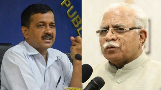 Delhi smog: I am in National Capital, where is the meeting, Haryana CM Khattar asks Arvind Kejriwal