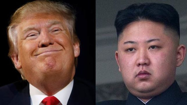 Do not underestimate us and do not try us: US President Donald Trump warns North Korea