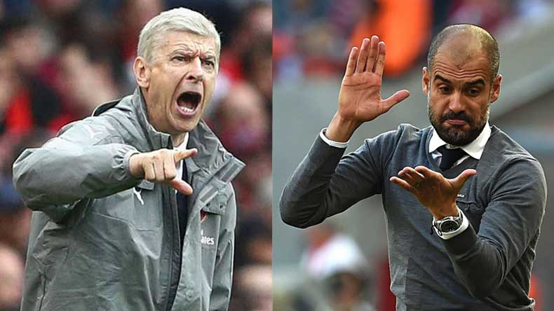 Here's why Man City boss Pep Guardiola is enraged with Arsenal's Arsene Wenger