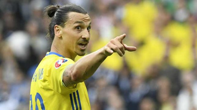 Man Utd striker Zlatan Ibrahimovic reveals why nobody expects much from Sweden these days