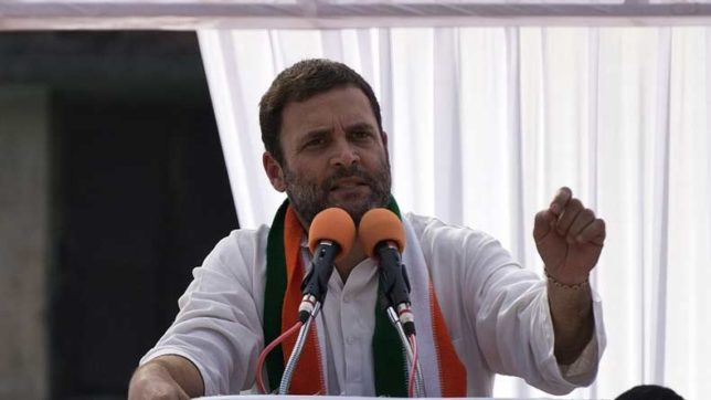 Rahul Gandhi slams BJP for indulging in violence against Congress candidates in Gujarat