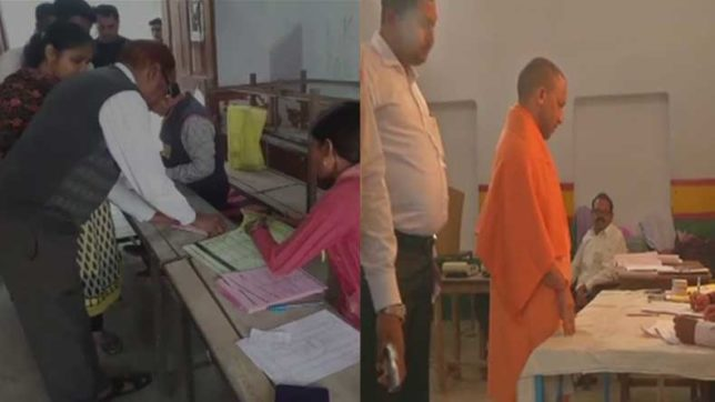 Uttar Pradesh civic body elections: Voters in Meerut claim tampering in EVMs by BJP, create ruckus